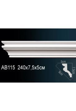 Потолочный плинтус (карниз) Perfect AB115