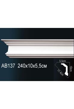 Потолочный плинтус (карниз) Perfect AB137