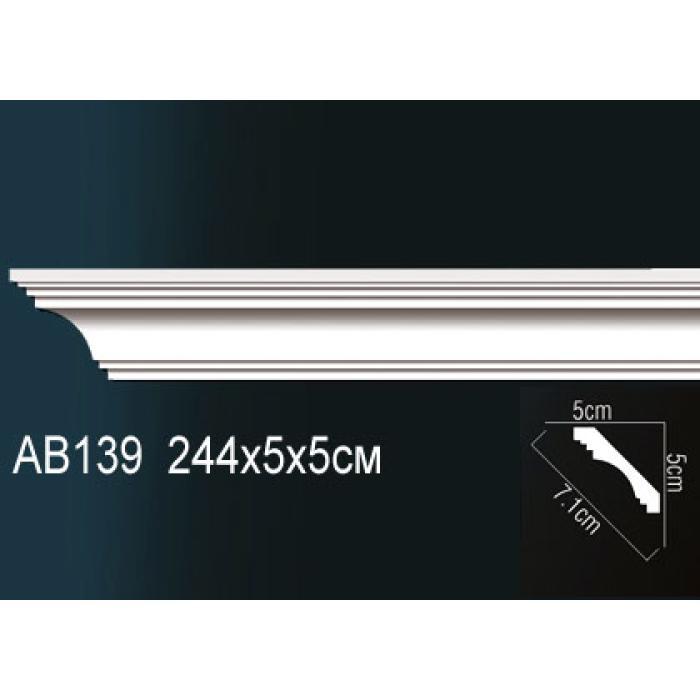 Потолочный плинтус (карниз) Perfect® AB139