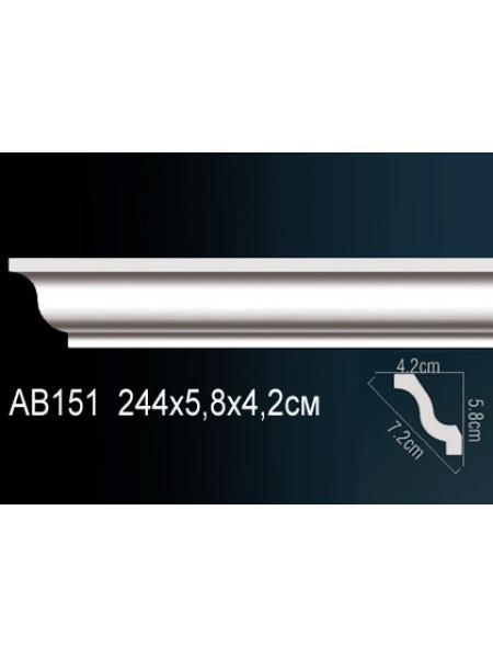 Потолочный плинтус (карниз) Perfect AB151