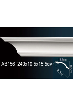 Потолочный плинтус (карниз) Perfect AB156