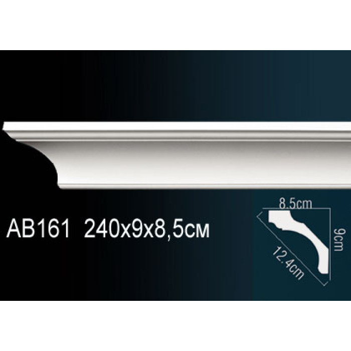 Потолочный плинтус (карниз) Perfect® AB161