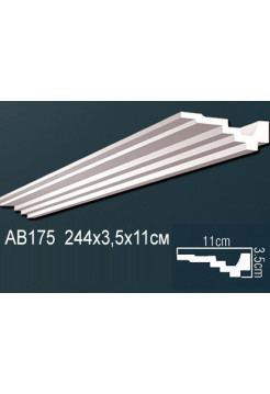 Потолочный плинтус (карниз) Perfect AB175