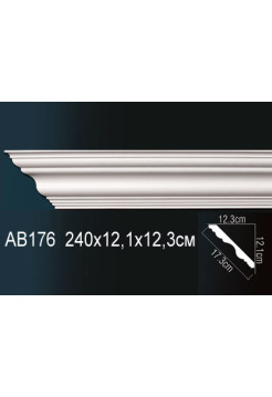 Потолочный плинтус (карниз) Perfect AB176