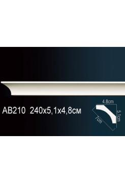 Потолочный плинтус (карниз) Perfect AB210