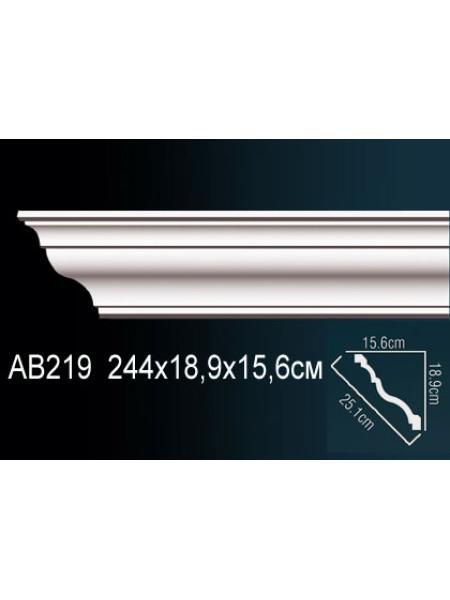Потолочный плинтус (карниз) Perfect AB219