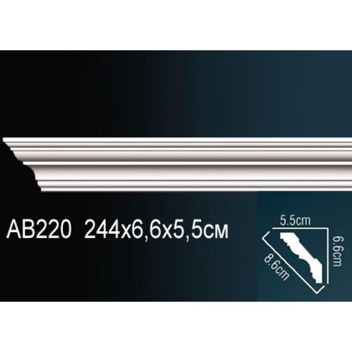 Потолочный плинтус (карниз) Perfect® AB220