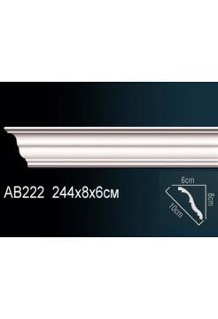 Потолочный плинтус (карниз) Perfect AB222