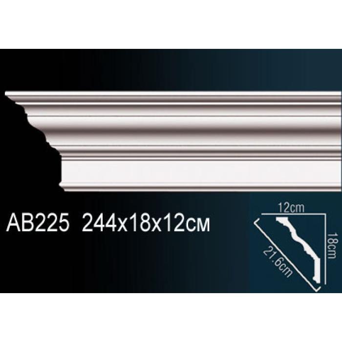 Потолочный плинтус (карниз) Perfect® AB225