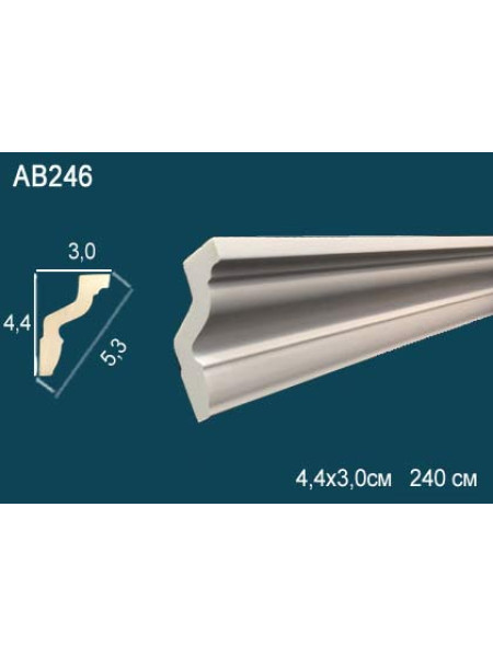Потолочный плинтус (карниз) Perfect AB246