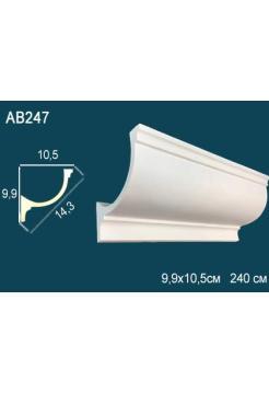 Потолочный плинтус (карниз) Perfect AB247