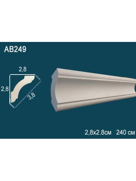 Потолочный плинтус (карниз) Perfect AB249