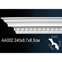 AA002 потолочный плинтус Perfect  ( 87 мм/85 мм )