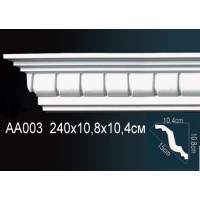AA003 (карниз) Perfect (108мм/104 мм)
