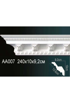 Потолочный плинтус (карниз) Perfect AA007