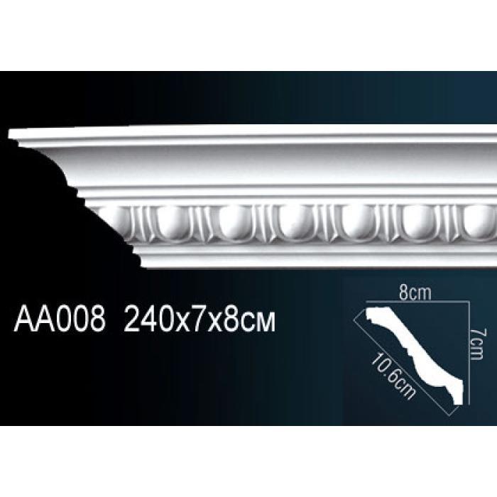 Потолочный плинтус (карниз) Perfect® AA008