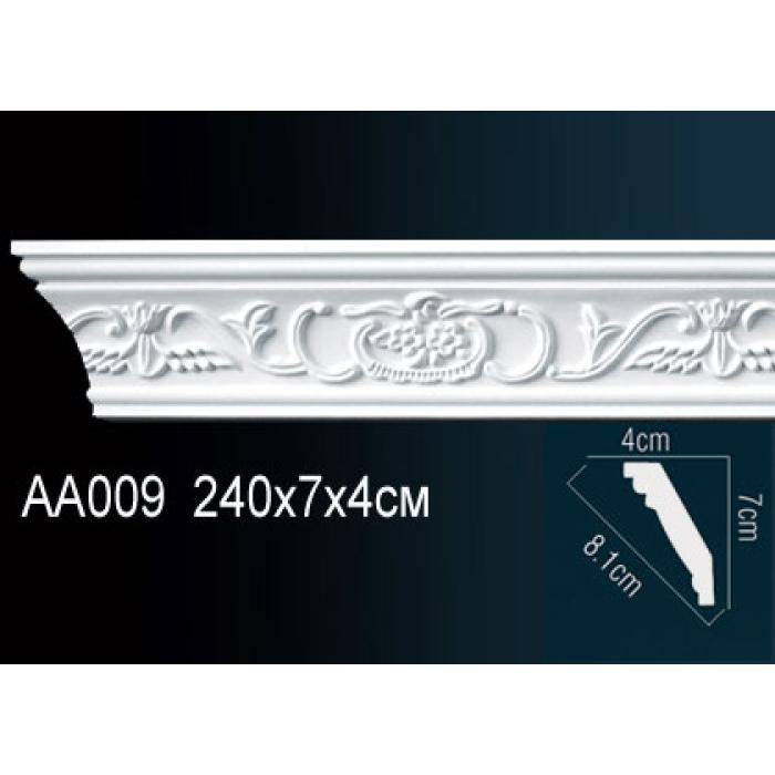 Потолочный плинтус (карниз) Perfect® AA009