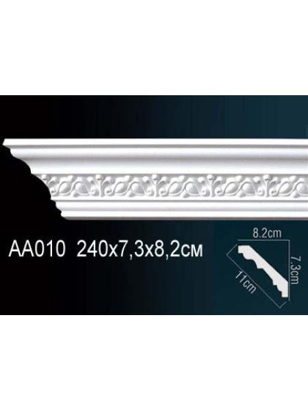 AA010 потолочный плинтус Perfect  ( 73 мм/82 мм )