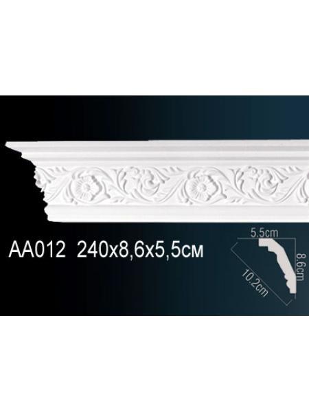 AA012 потолочный плинтус Perfect  ( 86 мм/57 мм )