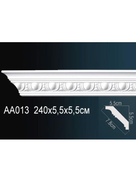 AA013 потолочный плинтус Perfect  ( 55 мм/56 мм )