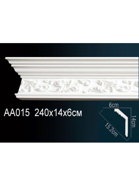 AA015 потолочный плинтус Perfect  ( 143 мм/62 мм )