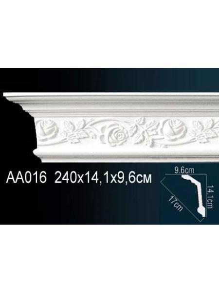 AA016 потолочный плинтус Perfect  (1457 мм/95 мм )