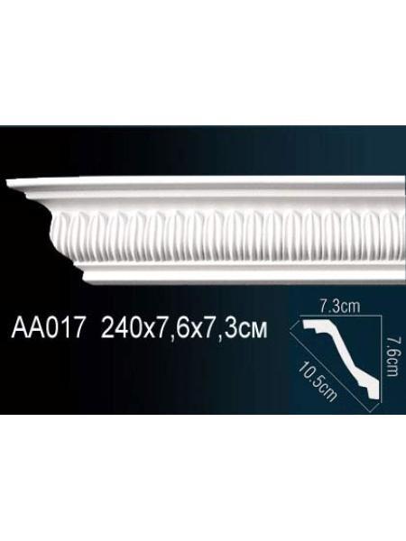 AA017 потолочный плинтус Perfect  ( 77 мм/74 мм )
