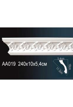 AA019 потолочный плинтус Perfect  ( 97 мм/60 мм )