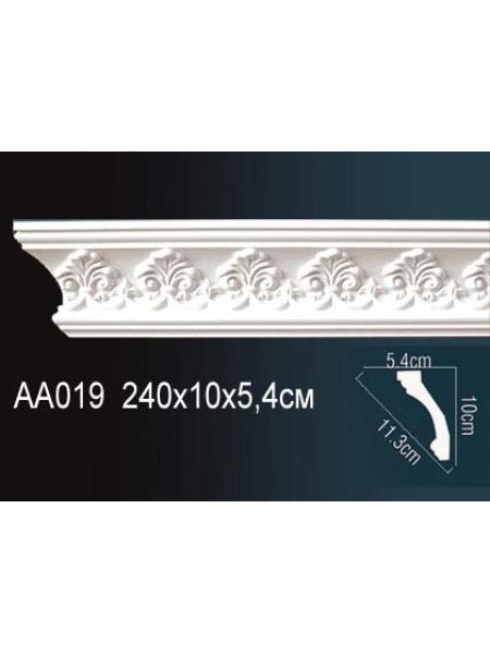 AA019 Потолочный плинтус (карниз) Perfect