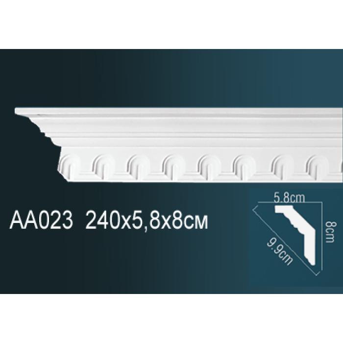 Потолочный плинтус (карниз) Perfect® AA023