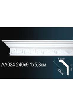 AA024 потолочный плинтус Perfect  ( 91 мм/58 мм )
