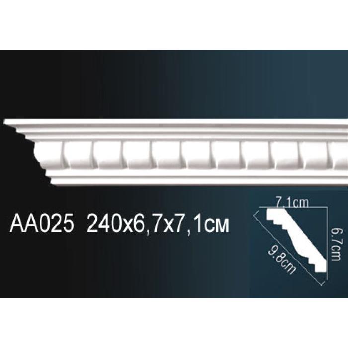 Потолочный плинтус (карниз) Perfect® AA025