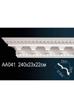 Потолочный плинтус (карниз) Perfect AA041