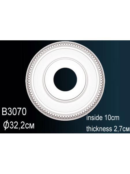 Розетка потолочная Perfect B3070