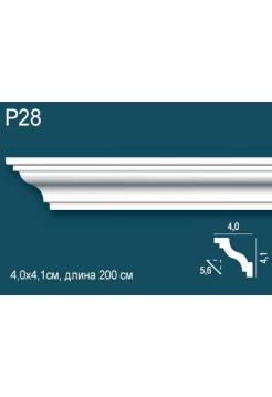 Потолочный плинтус (карниз) Perfect Plus® P28