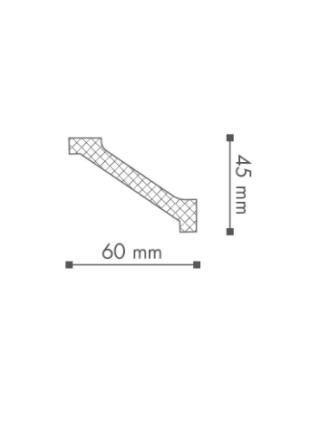 Потолочный плинтус (карниз) NMC WT1