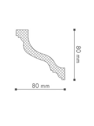 Потолочный плинтус (карниз) NMC WT10