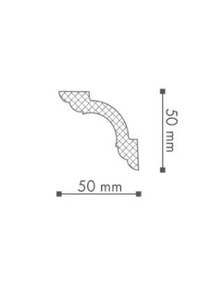 Потолочный плинтус (карниз) NMC WT5