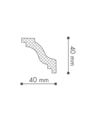 Потолочный плинтус (карниз) NMC WT6
