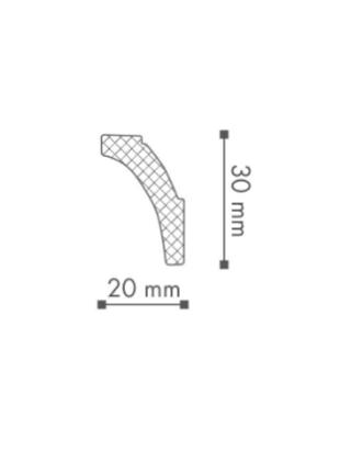Потолочный плинтус (карниз) NMC WT8