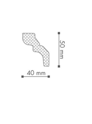 Потолочный плинтус (карниз) NMC WT9