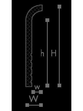 Плинтус напольный NMC CF1
