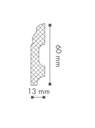 Плинтус напольный NMC FB1