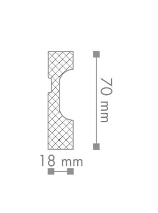 FD7 Плинтус напольный NMC