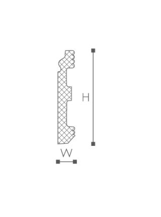 FL1 Плинтус напольный NMC