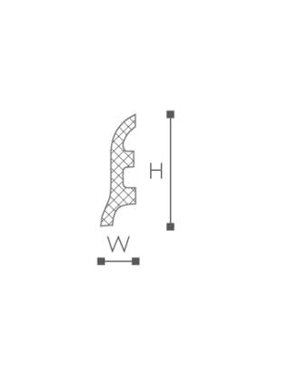 Плинтус напольный NMC FL3