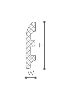 FL5 Плинтус напольный NMC