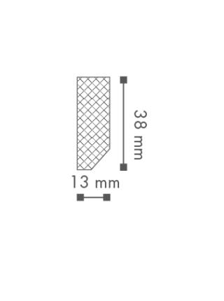 Плинтус напольный NMC FT1